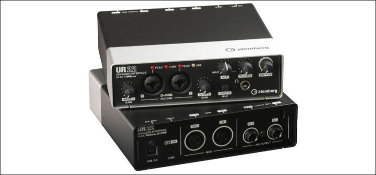 gaming soundkarte steinberg ur22