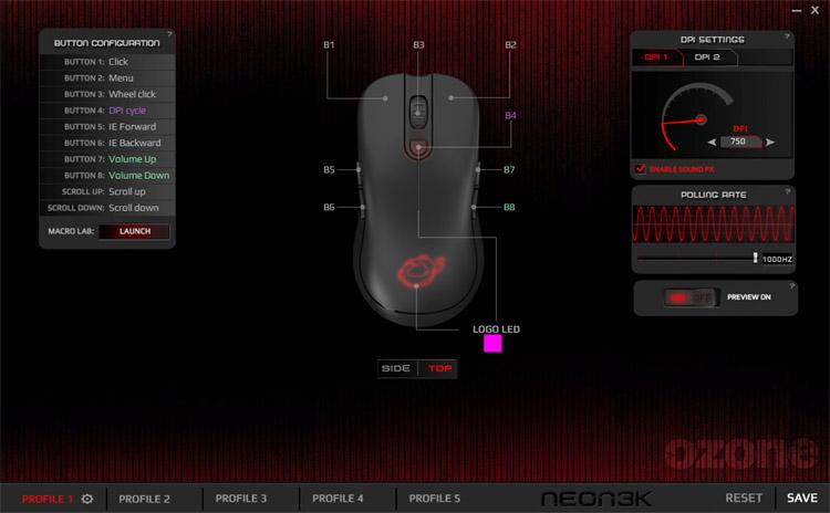 ozone neon 3k software