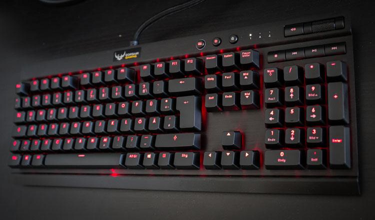 beste mechanische tastatur k70