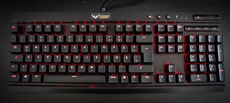 mx red switch corsair