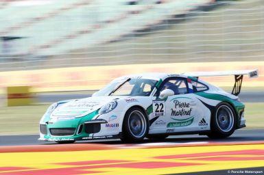 Porsche Mobil 1 Supercup Budapest 2015 Come Ledogar (F)