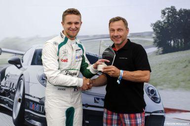 Porsche Mobil 1 Supercup Budapest 2015 Come Ledogar (F) Richy Müller