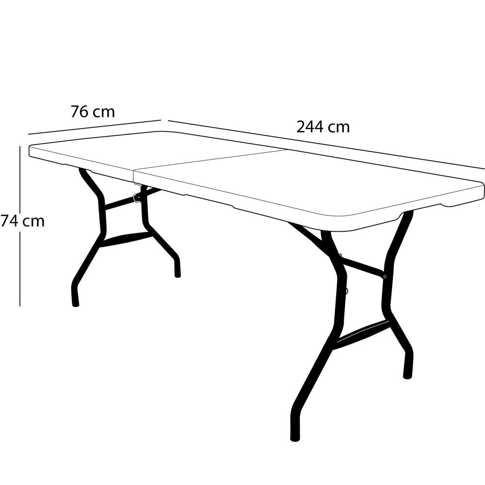 table pliable en 2 valise