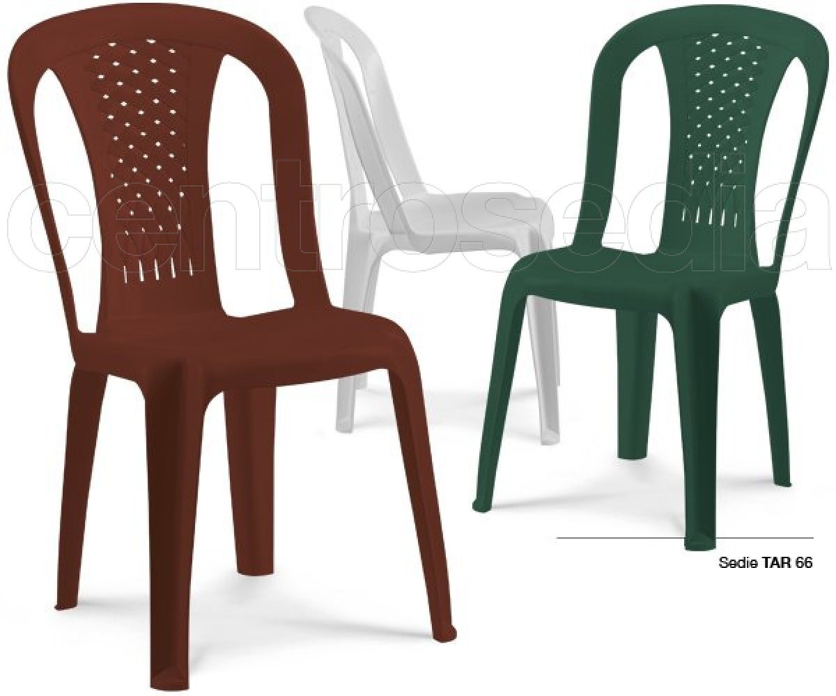 chaise empilable bistrot tarta vert ou