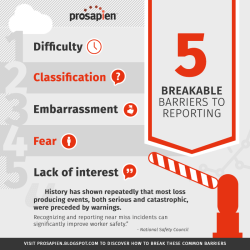 5 Barriers to Reporting