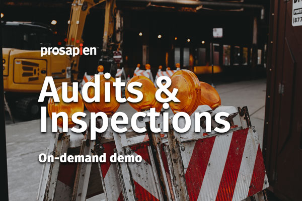 Audits and Inspections On-demand