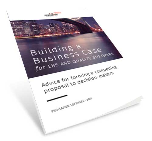 Building a Business Case for EHS Software