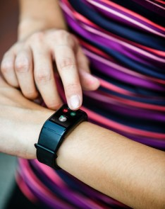 Smart watches can be used as wearable safety technology.