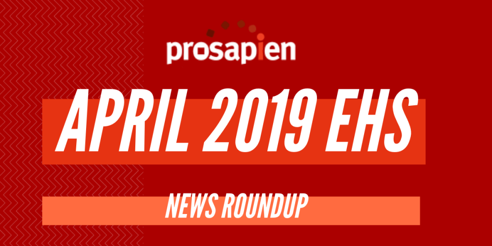 April EHS News Round Up