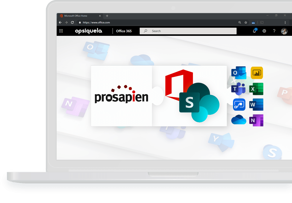 Pro-Sapien is an Office 365 add-in for enterprises