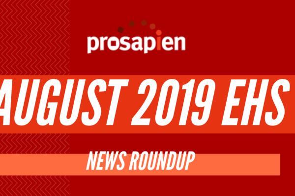 August EHS News