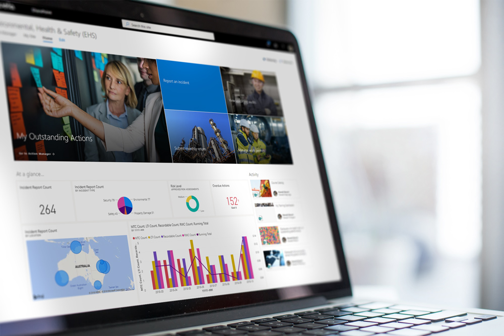 SharePoint Online is a solid basis for Safety Management Software
