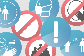 COVID-19 Awareness Icons Pack