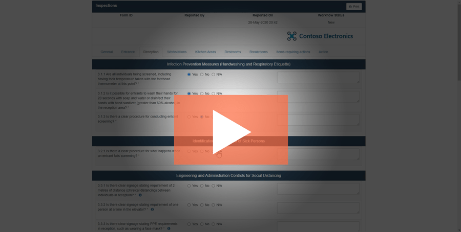 Watch the Audits & Inspections demo video