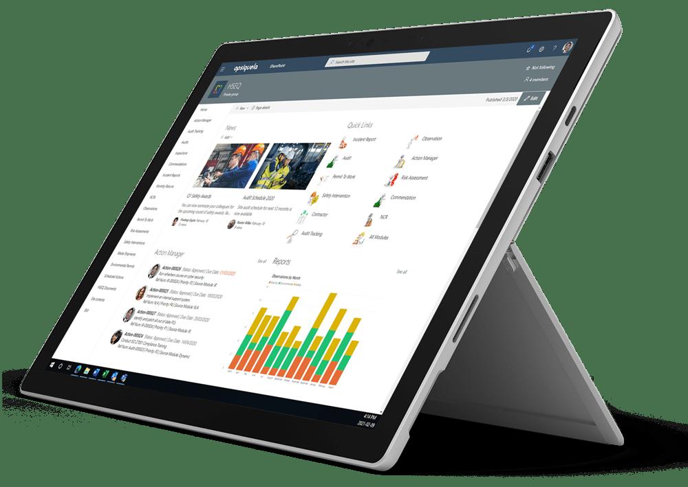 Pro-Sapien's EHS software integrates into Office 365