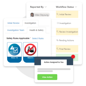 Investigate, correct, prevent - EHS Incident Management Software on Office 365