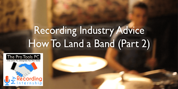 How To Land A Band