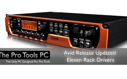 Avid Eleven Rack Drivers
