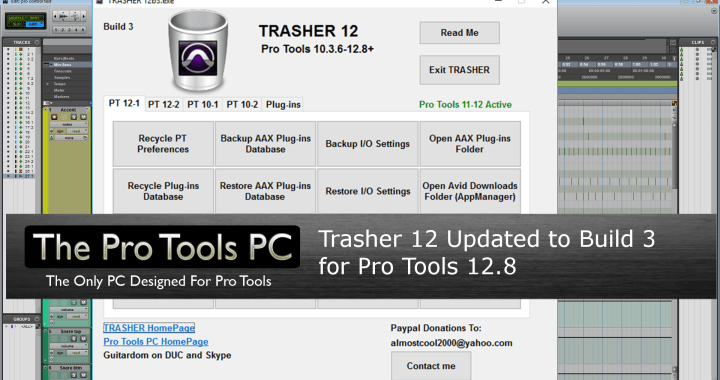 Trasher 12 updated for Pro Tools 12.8
