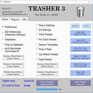 TRASHER 3 build 18