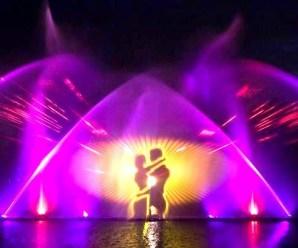 Фонтан Рошен – восхитительный театр на воде