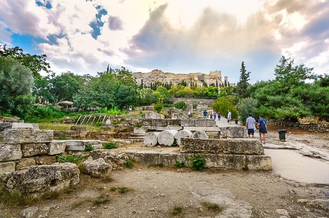 Афинский Акрополь Асклепион
