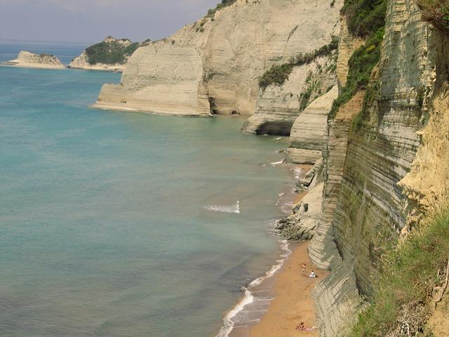 пляж перуладес корфу