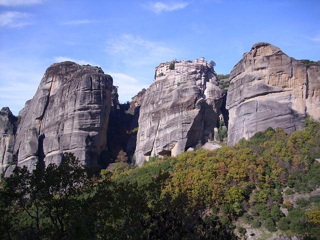 Как образовались метеоры Греции