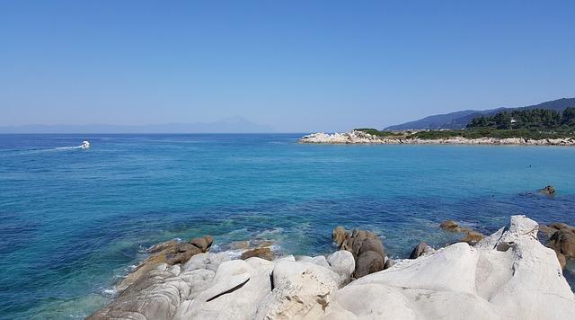 море на халкидиках