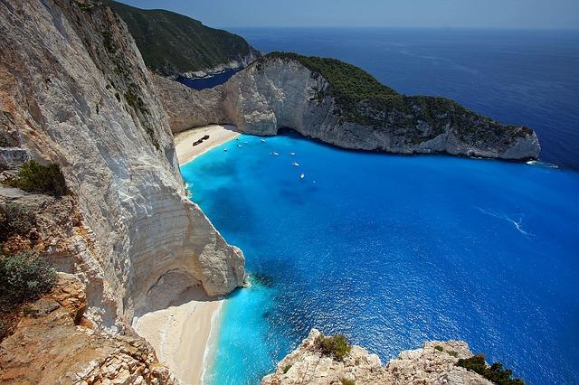 ионическое море греция