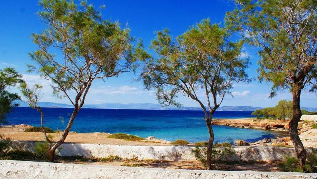 остров эгина греция