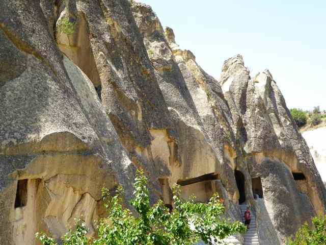 пещерные жилища измир турция