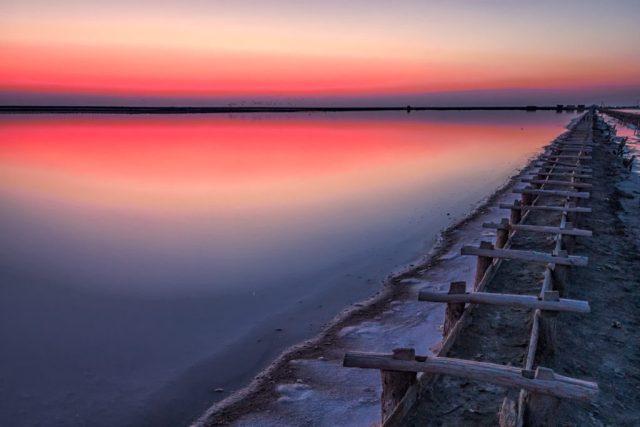 Арабатка озеро Сиваш Генгорка