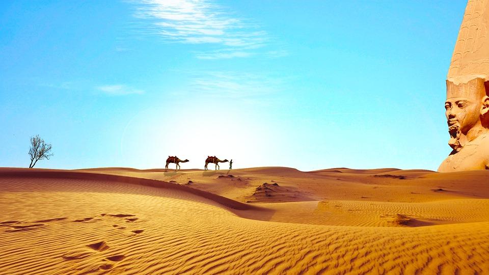 Египет: карта, расположение, время, климат, валюта, религия