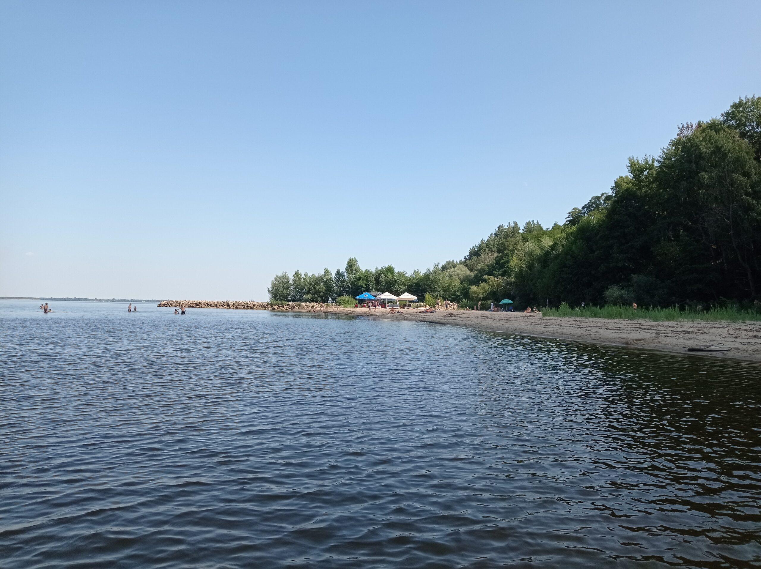Киевское море у подножия новопетровских круч