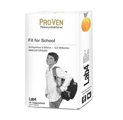 Pro-Ven Fit for School Tyggetabletter – Lab4