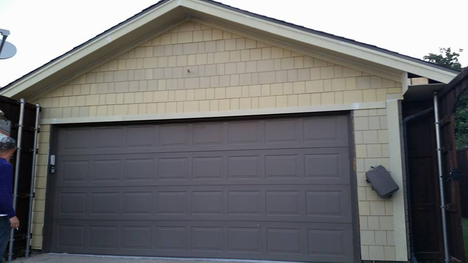 New garage door installations