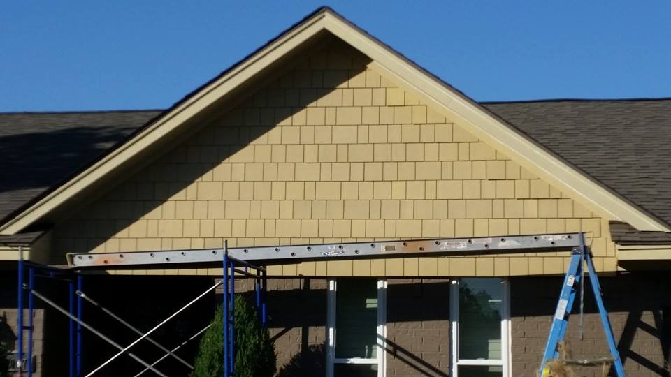 new energy effcient  siding installation