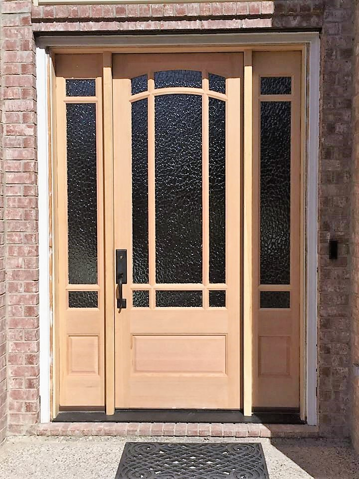 Wood entry door (2)