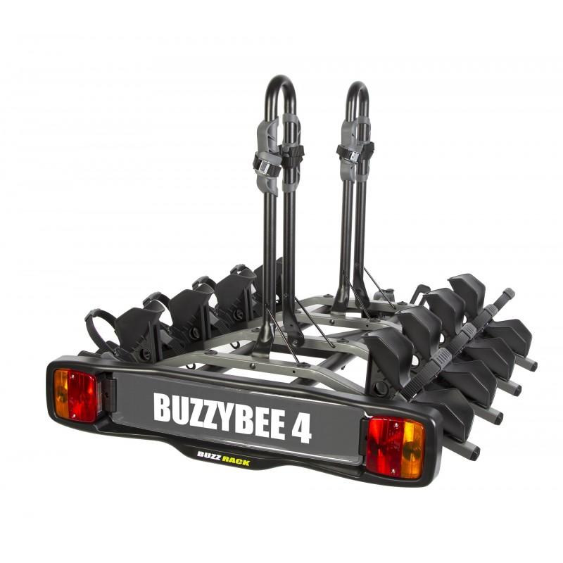 new buzzy bee 4 porte velo sur attelage plateforme 4 velos