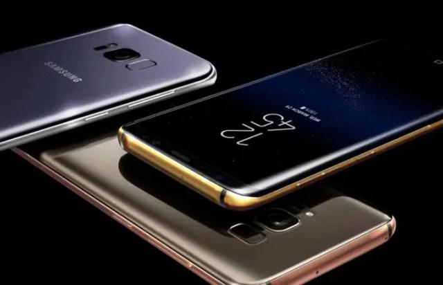 Samsung Galaxy℗ S8 de oro