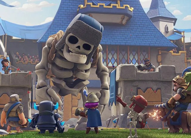 cuántos datos consume Clash Royale