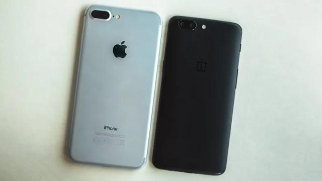 oneplus vs iphone 7