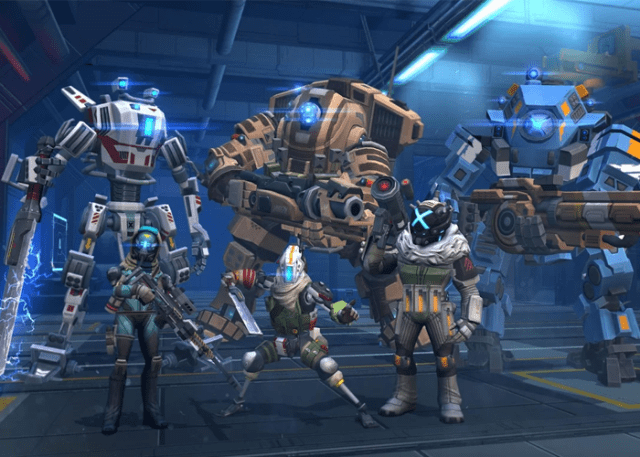 Titanfall Assault en Google Play