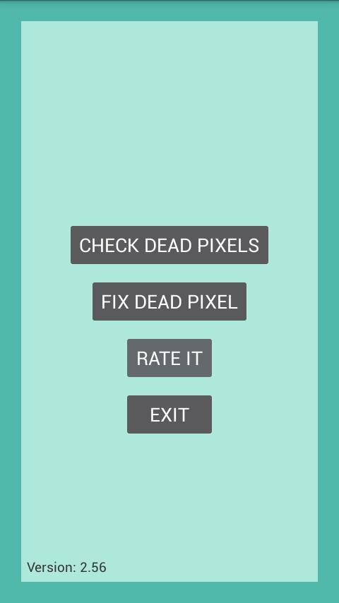 arreglar pixel muerto app