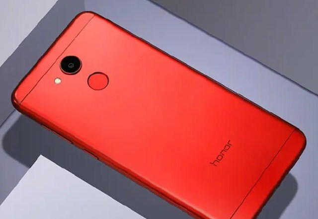 honor V9 Play rojo