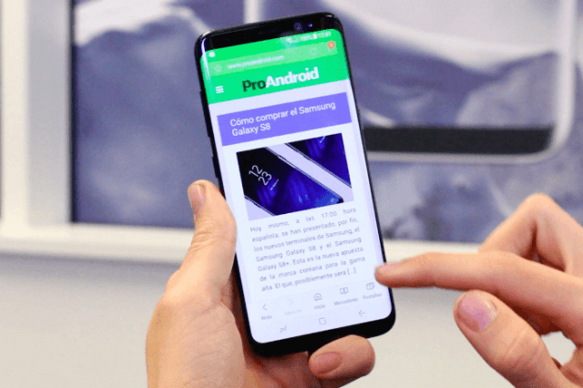 Samsung galaxy s8 pro android