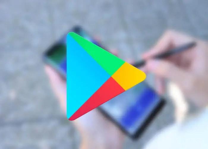 Logotipo de Google Play Store
