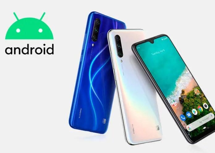 Xiaomi Mi A3 Android 10