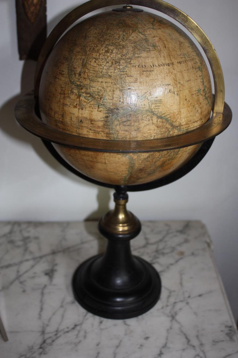 globe terrestre par delamarche date